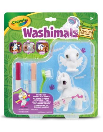 Washimals duopack Toekan/Zebra
