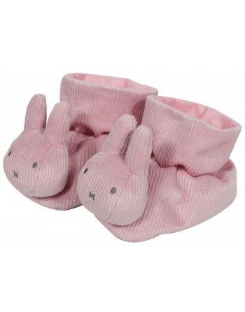 Boxpantoffels nijntje pink baby rib 605