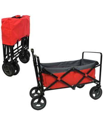Outdoor Bolderwagen Rood/grijs