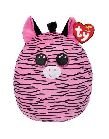 TY Squish A Boo Zoe Zebra 31cm