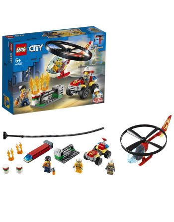 Lego City Fire Helicopter...