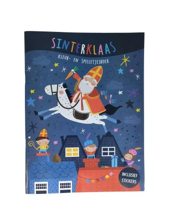 Sinterklaas Kleur- En...