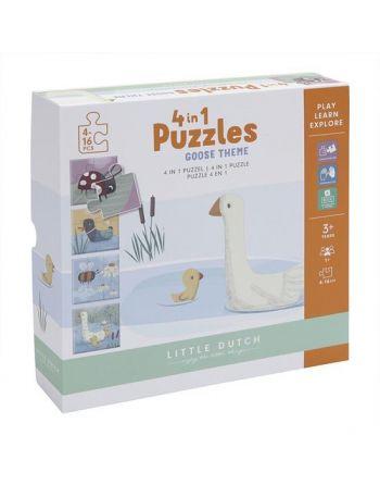Little dutch 4 in 1 puzzel...