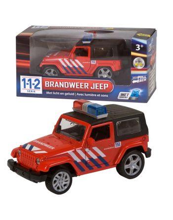 112 Brandweer 4x4 Auto met...