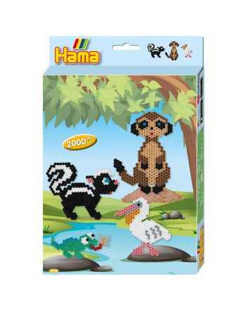 Hama 3446 Animals 2000st