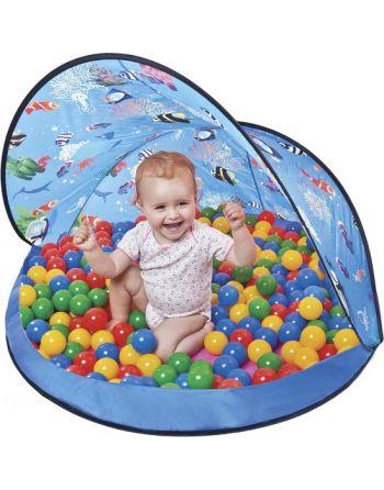 Tent Blauw + 50 ballen