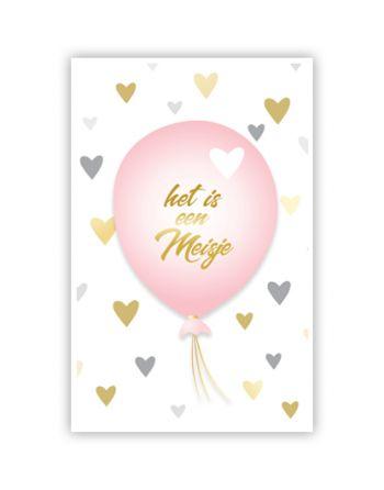 Roze Ballon - Het is een...