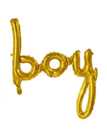 Folieballon Boy 70x60 cm