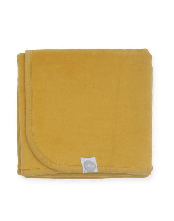 Wieg Deken 75x100cm - Mustard
