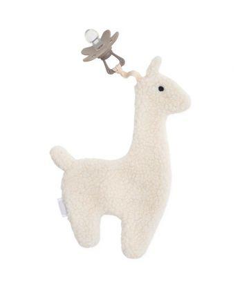 Speendoekje Lama - Off-white