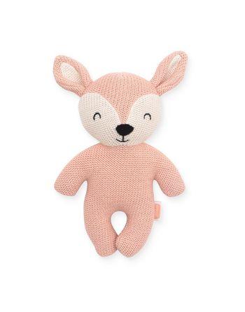 Knuffel Deer - Pale Pink