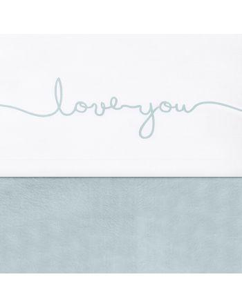 Laken Wieg 75x100cm - Love...