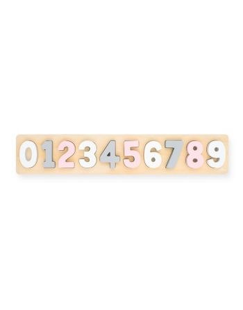 Houten Puzzel - Cijfers 1-9...