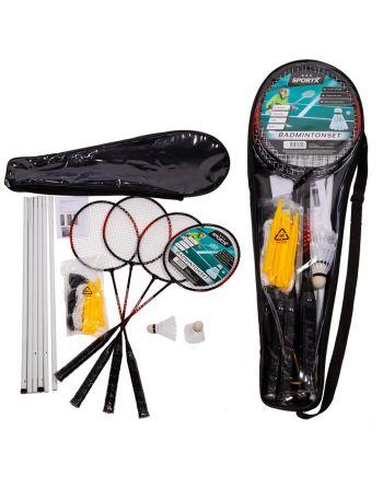 SportX Badmintonset *** + Net
