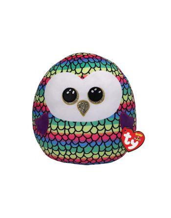 Ty Squish a Boo Owen Owl 20cm