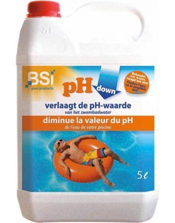 pH down liquid 5 L -...
