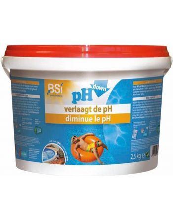 pH down poeder 2,5 kg -...