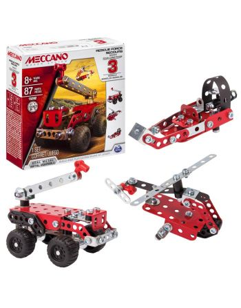 Meccano 3 Model set Fire truck