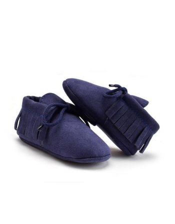 Schoentjes donker blauw