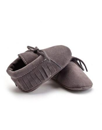 Schoentjes donker grijs