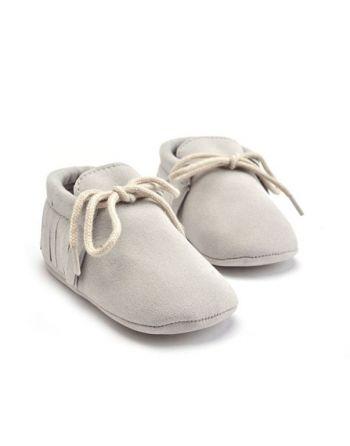 Schoentjes grijs