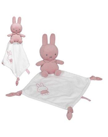 Nijntje Rib Knuffeldoekje Pink Baby