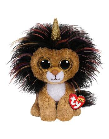 TY BEANIE BUDDY RAMSEY LION 24CM