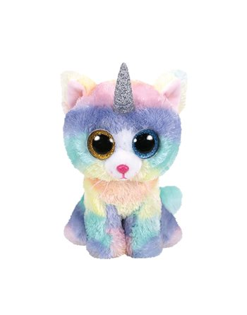 TY BEANIE BOO'S HEATHER CAT 15CM