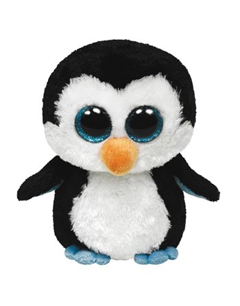 Ty beanie boo's xl waddles penguin 42cm