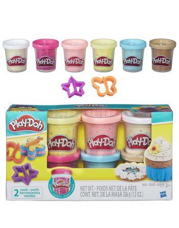 Play-Doh 6 potjes confetti B3423EU6