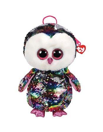 Ty fashion rugzak owen owl 33cm