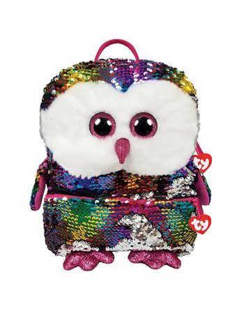 Ty fashion rugzak owen owl square 33cm