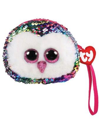 Ty fashion portemonnee owen owl 13cm