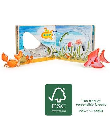 Prentenboek onderwaterwereld, interactief