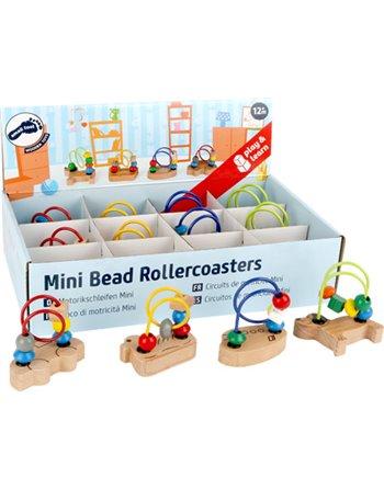 Mini Bead Rollercoasters Display