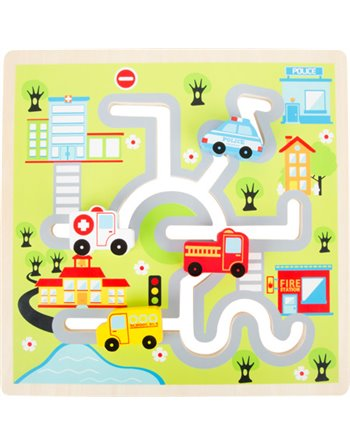 City Maze Puzzle