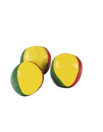 3 jongleerballen 5,5cm in koker 756001