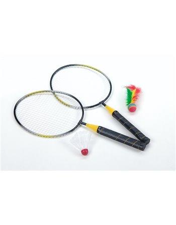 Badmintonset met shuttle + bal 857007