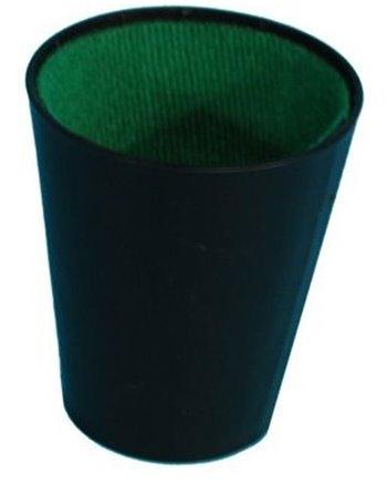 Dobbelbeker zwart 300603