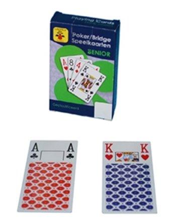 Speelkaarten longfield senior 390112