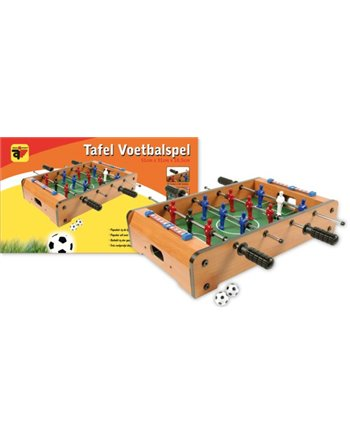 Tafelvoetbalspel hout 50 cm 725010