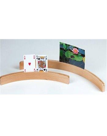 Kaarthouder hout 50 cm 390809