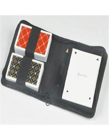Speelkaarten in etui luxe 390120