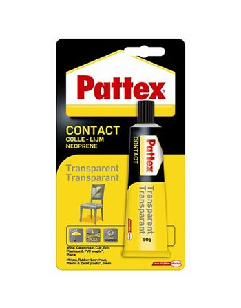 Pattex tube contact Transparant 1563743