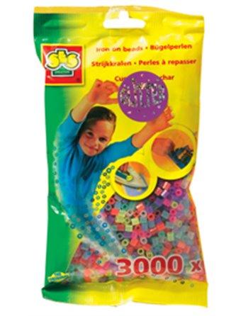 SES 3000 Strijkkralen glitter 0774