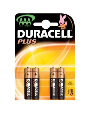 10X4 Duracell potlood cell AAA 2027