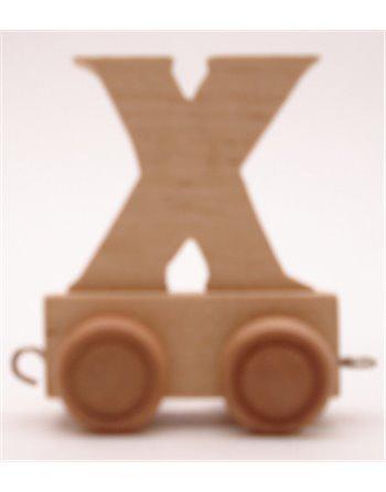 6 lettertreinen X
