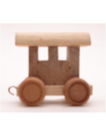 6 lettertreinen Wagon