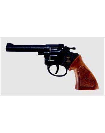 8 Schots pistool Ringo chrome 30334