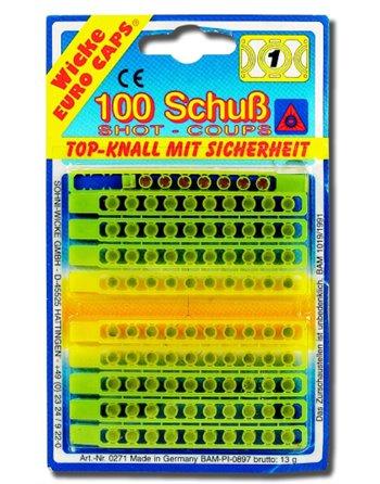 10 X 100 Schots amorces Wicke 0271